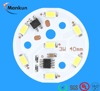 2016 china mcpcb 3/5/7/9/12/15/24W 220V High voltage IC board led module smd 5730 for bulb light,down light,ceiling light