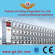 Stainless steel Temporary driveway folding expandable gate for company JHX 318 Details