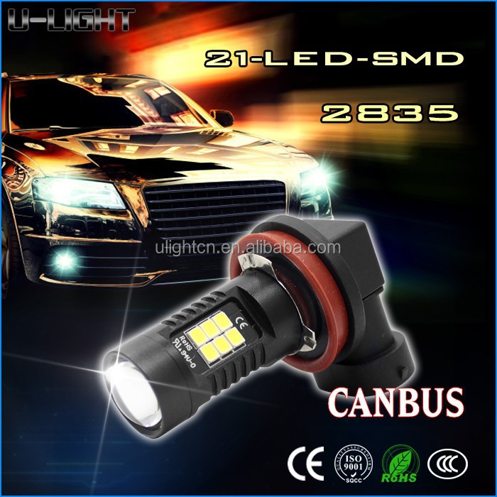 High quality led auto light 780 lumen 2835 smd led H8 H9 H11 led fog light
