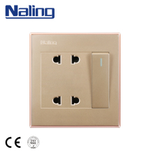 Naling Cheap Items To Sell 1 Gang 2 Way Multi Electrical Plug Socket Wall Switch For Household