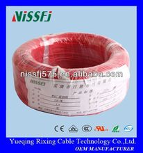PVC high temperature resistant insulation electric alloy indoor & outdoor underfloor heating wire & cable