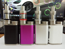 75 w e cigarete 18650 cell Istick Pico Mega Full Kit Istick Pico 80W Starter Kit With Melo 3 Tanks Atomizer