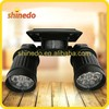 New Modern Wall Mounted Outdoor Motion Sensor Solar Security Light with 14 pcs Super Bright led