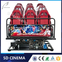 2017 Hot Sales Dynamic Projector Movie Theater 5D Cinema Simulator Theater Equipment 5D 7D 8D