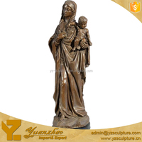 Life Sie Mary Baby Jesus Statue For Decoration BFSN-C068