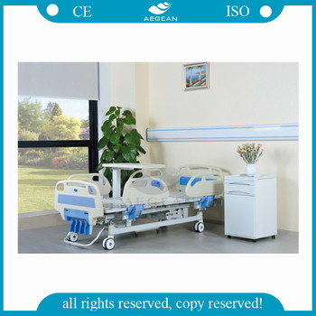 AG-BMS001C With Comfortable Bedboard Medical High Low Hospital Beds