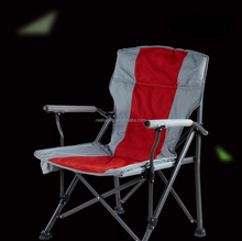 High Quality 600D Oxford Fabric Lightweight Fishing Chair Folding Chair Camping Chair with Arm