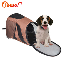 Dog accessories outdoor polyester pet carrier backpack