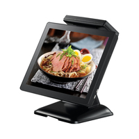 Elanda hottest double touch screen all-in-one POS/pos 58 printer thermal driver