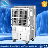 cheap wholesale floor standing evaporative cooling fan with big water tank