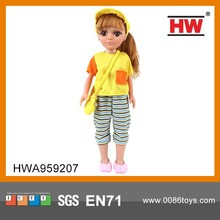 18 Inch Fashion Plastic Dolls Wholesale Plastic Dolls for Crafts