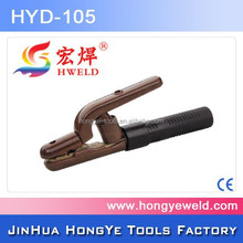 300A Copper Welding Machine Holder Different Types Of Candle Holders With Nylon Handle HYD-105