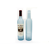 Wholesale non-slip cork visor blue frosted white wine red wine glass bottle