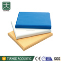 High absorption clothing fabric panel acoustic soundboard for auditorium