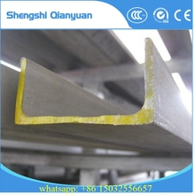ASTM A36 hot rolled steel C channel carbon structural