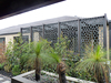 Metal decorative perforated screen for garden partition panel decoration