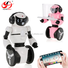 2.4G Wifi FPV APP Control Intelligent G-sensor RC Robot With Camera Super Carrier for kids