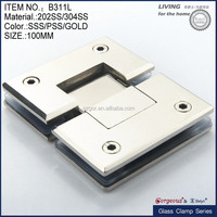 Best Selling Aluminium Alloy Shower Door Pivot Hinge