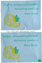 Cheap Price wholesale aromatic sachet wet wipes