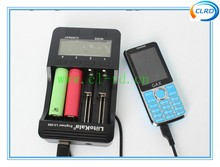 2016 Liitokala Lii-500 NiMH Battery Charger 3.7V 18650 26650 1.2V AA AAA 5 V output LCD smart charger USA