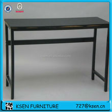 KD structure wood,metal computer table design