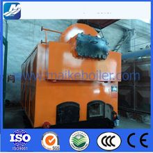 coal fired steam boiler of closed vessel mechanization combustion