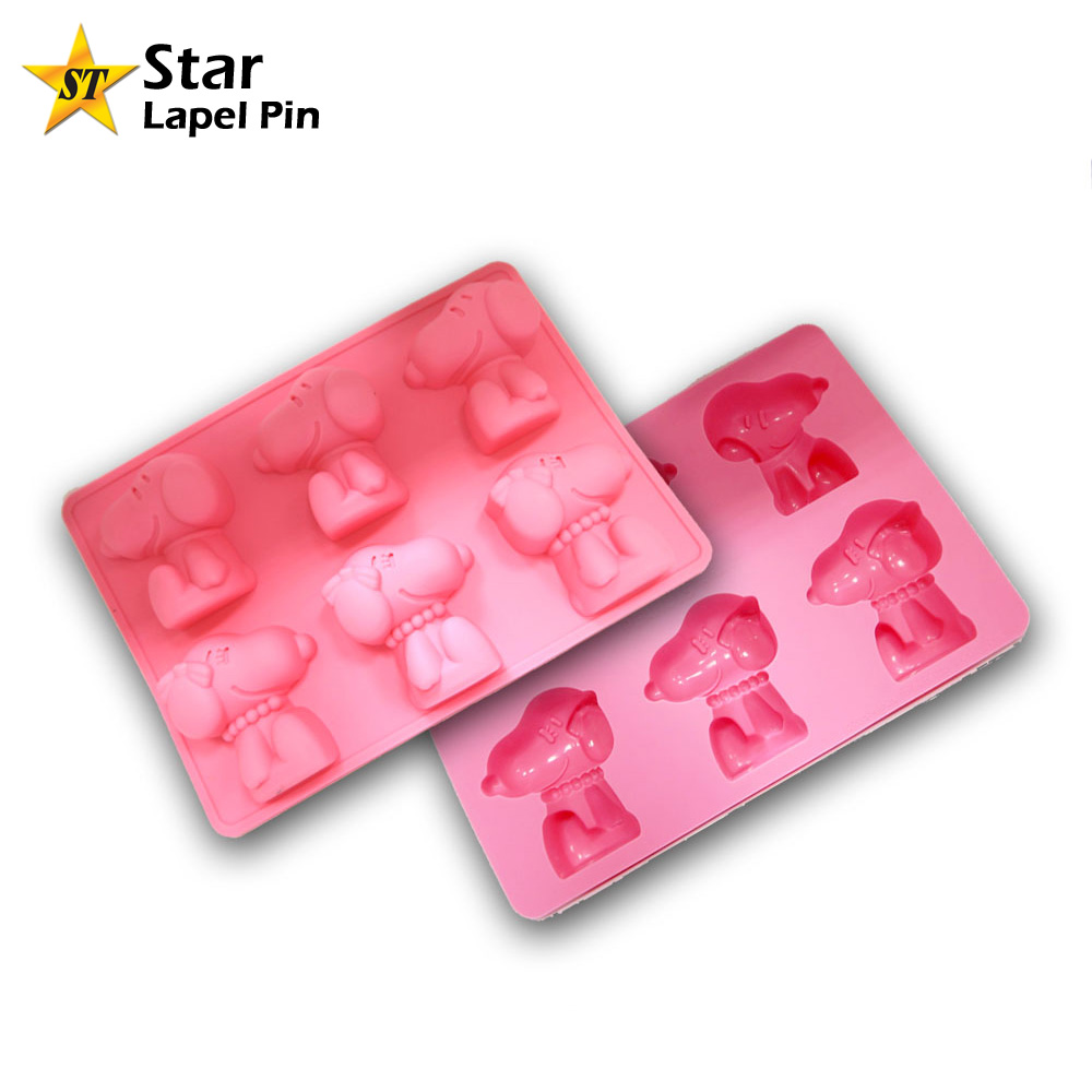 DIY Homemade Custom Shape OEM Silicone Rubber Mold for Soap