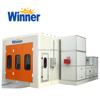 M3200A WINNER China Manufacturer Used Car Paint Booth for Sale with Factory Price