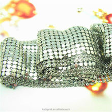 Decorated polished metal drapery metal coil drapery metal mesh curtain