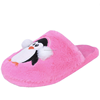 Penguin animal indoor used house shoes warm women's slipper 2018