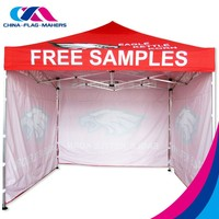 china outdoor 3x3m aluminum fold marquee tent with cheap price