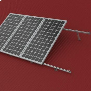 Module racking system for adjustable solar mount racking