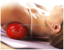 handle various sizes spiky massage ball