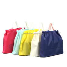 EVA gift wrapping hand plastic bag with stock