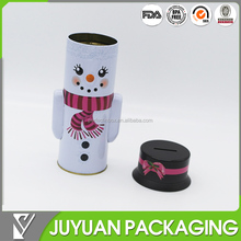 aluminum mini custom packaging round money bank tin can
