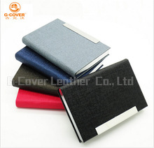 Wholesale Factory Price Aluminum PU Leather Credit Card Holder