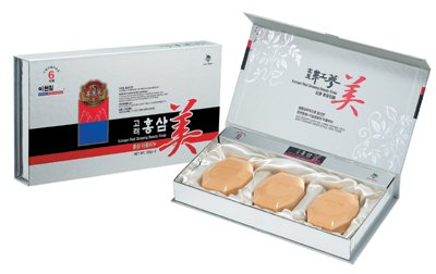 Korean Red Ginseng Beauty Soap