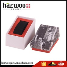 4 color printing watch cardboard box with custom drawing