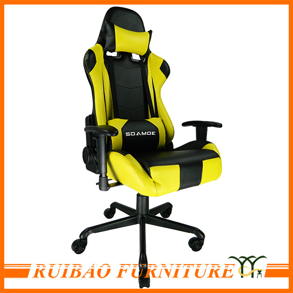 Comfortable Computer Gaming Cyber Cafe Racing Chair