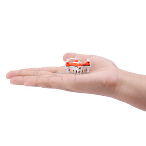 The Newest Smallest Only 2.2CM RC quadcopter 2.4G 6 Axis Micro Mini Nano Pocket Small Drone with Headless