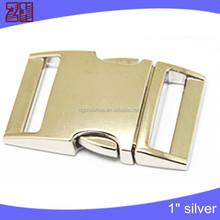 Factory bag buckle,clip buckle manufacture,metal side release buckle