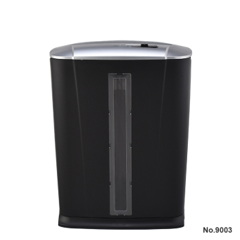 THE MOST POPULAR EASY OPERATION MINI ELECTRIC PAPER SHREDDER 9003 BLACK 13L STRENGTH OFFICE FAMILY A4 CUTTING PAPER MACHINE