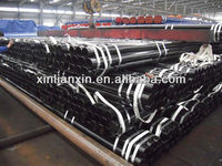Carbon and low-alloy seamless steel pipes