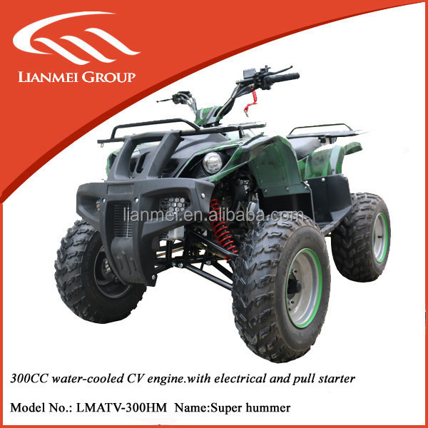 300cc 4 wheeler atv for adults chinses wholesale