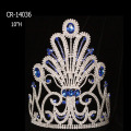 "10"" Wholesale Sapphire Big Pageant Crowns For Sale"