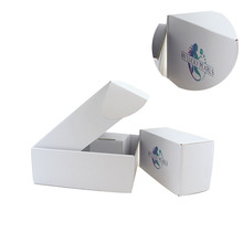 Eco-friendly cosmetic gift set packaging boxes folding paper corrugated cardboard box