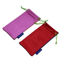 Mix-Color Carrying Pouch Microfiber Glasses Bag Sunglass