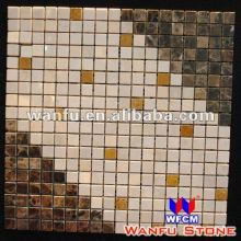 Colorful Small Square Mosaic Pattern