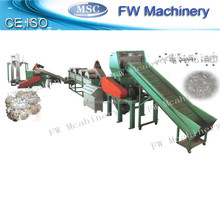 hot sale used plastic film recycling machinery pe film cleaning machine