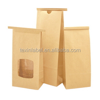 Sachet printing paper craft bag with aluminum foil for food package